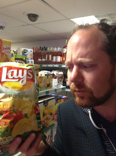 apropos of nothing: bolognese flavoured chips?!