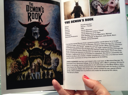 The Demon's Rook page in the Ultra 8 Pictures brochure (we have a brochure, guys!)