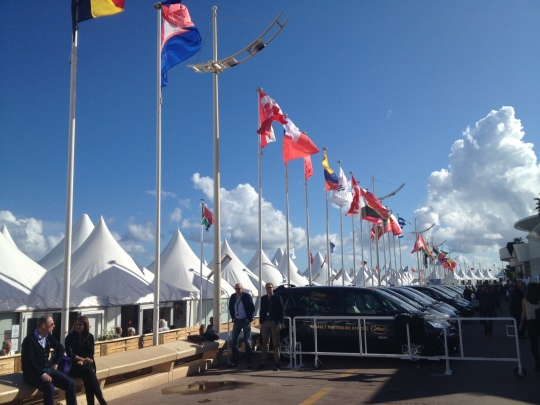 Just a small fraction of the number of International Pavilion tents.