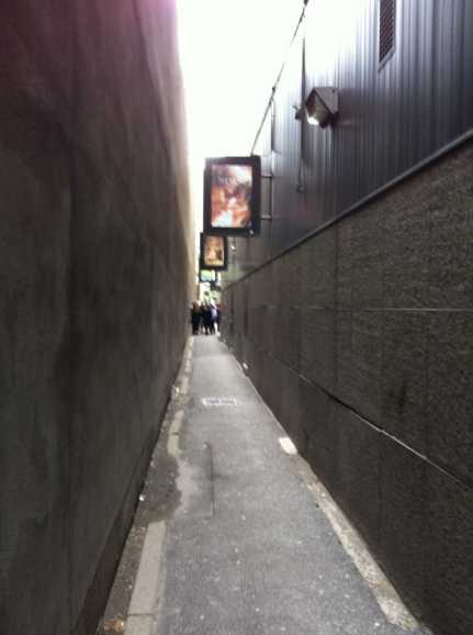 R.I.P., this alley