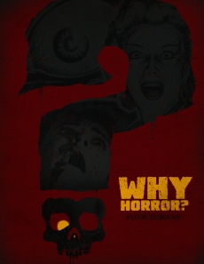 Why Horror poster clean