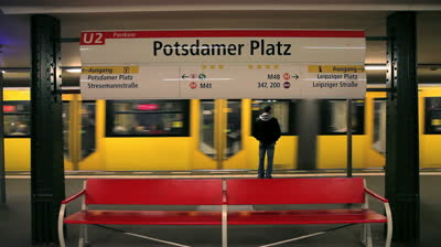 "Potsdamer Platz, the ""EFM station"""