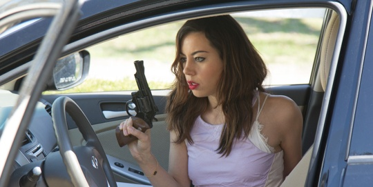 Aubrey Plaza in a Hal Hartley film? Perfect!