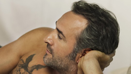 Jean Dujardin, star of The Connection. Sexiest man at TIFF? Or sexiest man on earth?