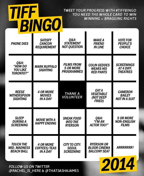speaking of giddy enthusiasm, I am SO going to get a bingo this year!