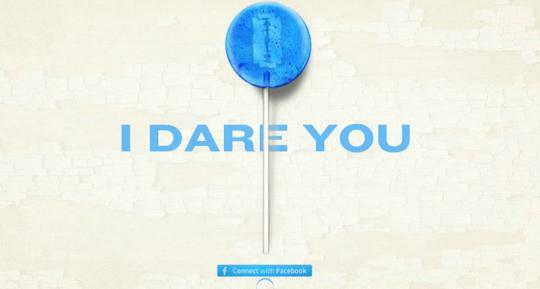 go ahead, take our transmedia company's creepy lollipop!