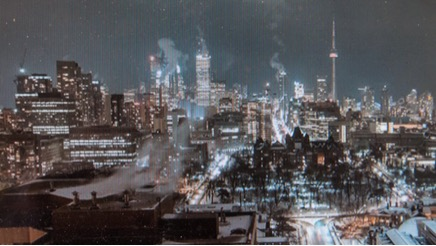 as real as Toronto at night