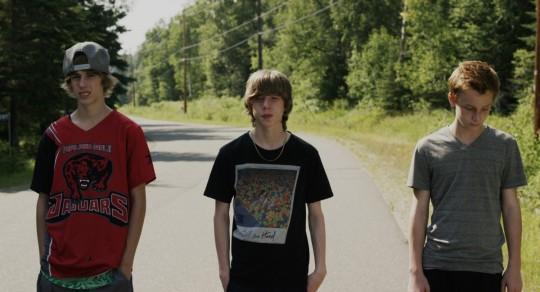 three boys from Thunder Bay